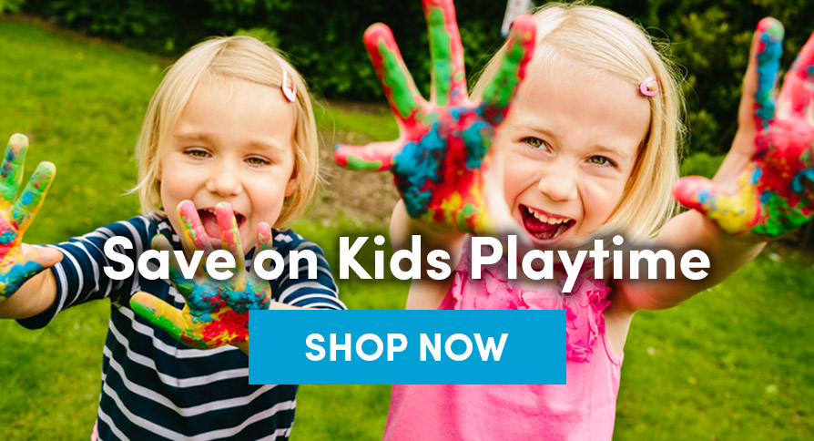 Save on Kids Playtime SHOP NOW